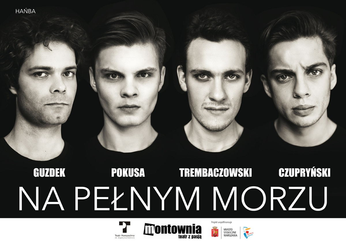 """""""Na pełnym morzu"""", plakat (źródło: mat. prasowe)"""