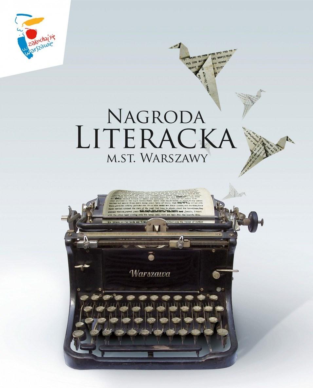 """""""Nagroda Literacka m.st. Warszawy"""" – plakat (źródło: materiały prasowe)"""