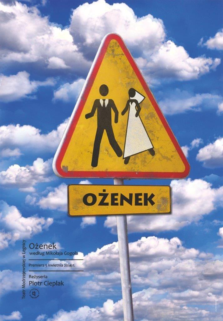 """Ożenek"", plakat (źródło: mat. prasowe)"