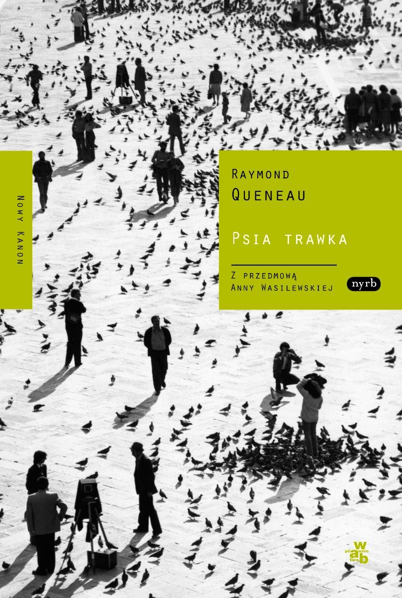 """Raymond Queneau """"Psia trawka"""" – okładka (źródło: materiały prasowe)"""
