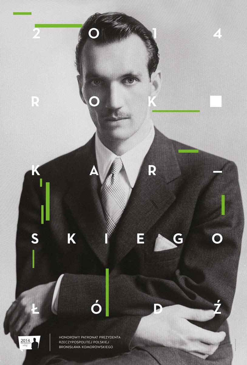 Rok Karskiego, plakat (źródło: materiały prasowe)