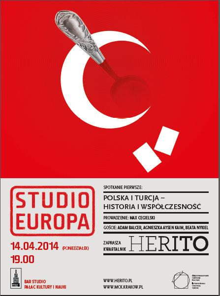 """""""Studio Europa"""" – plakat (źródło: materiały prasowe)"""