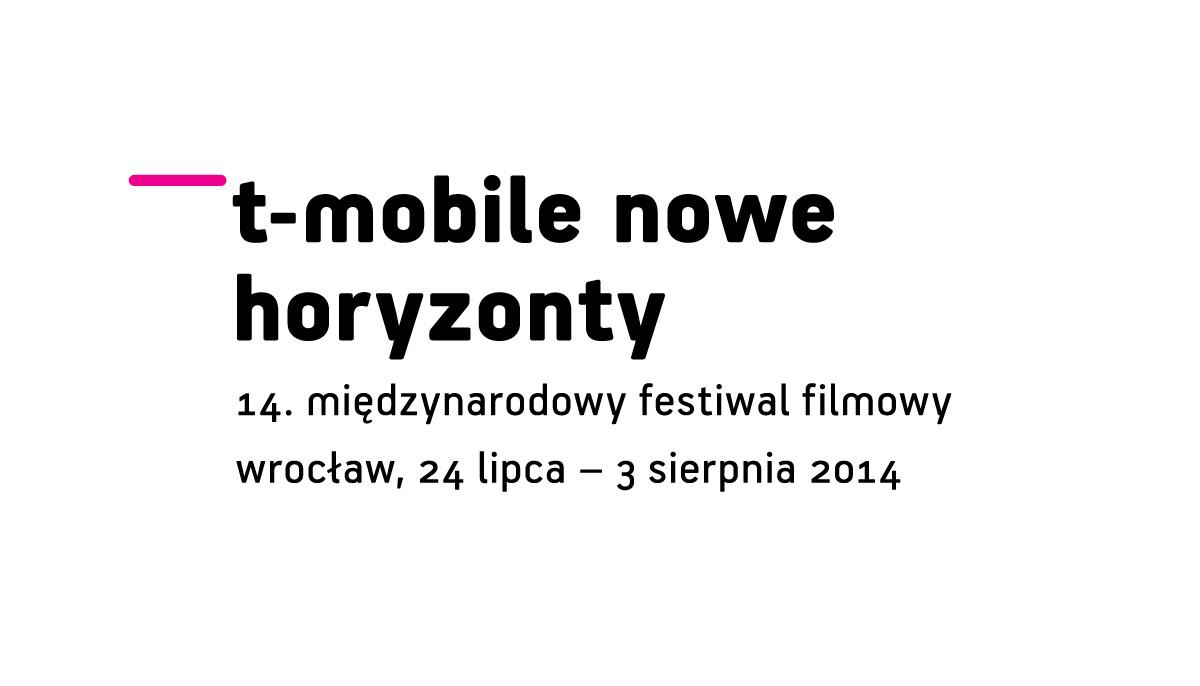 Międzynarodowy Festiwal Filmowy T-Mobile Nowe Horyzonty, logo (źródło: materiały prasowe)