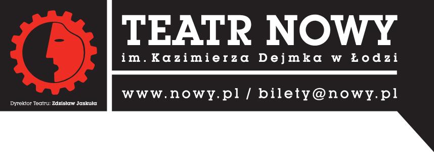 Teatr Nowy im. Kazimierza Dejmka w Łodzi, logo (źródło: materiały prasowe)