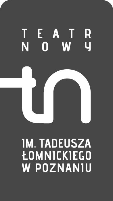 Teatr Nowy im. Tadeusza Łomnickiego w Poznaniu, logo (źródło: mat. prasowe)
