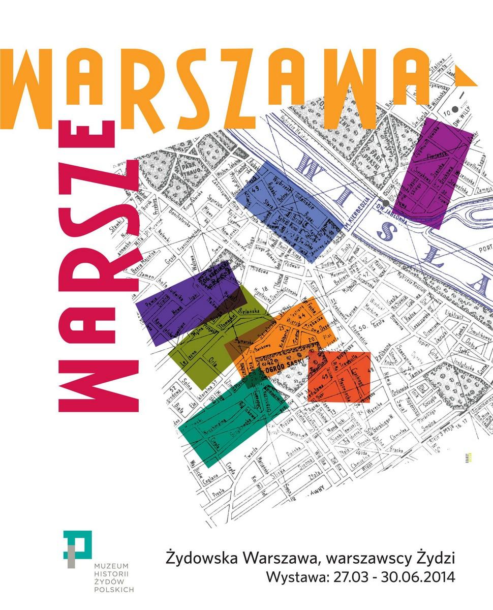 """Wystawa czasowa """"Warszawa, Warsze"""", plakat (źródło: materiały prasowe)"""