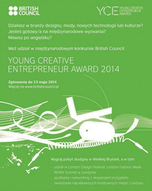 Konkursy Young Creative Entrepreneur – Design and Fashion oraz Young Creative Entrepreneur – Culture (źródło: materiały prasowe organizatora)