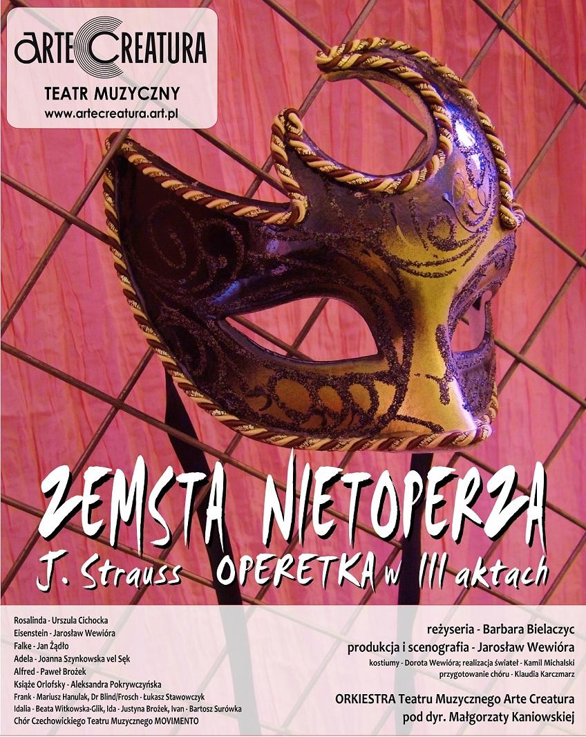 """""""Zemsta nietoperza"""", plakat (źródło: mat. prasowe)"""
