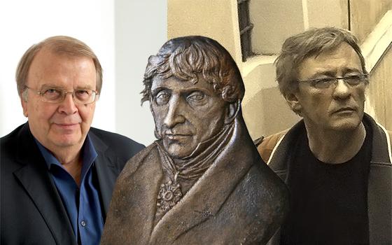 Wilhelm Genazino i Janusz Rudnicki (źródło: materiały Miasta Toruń)