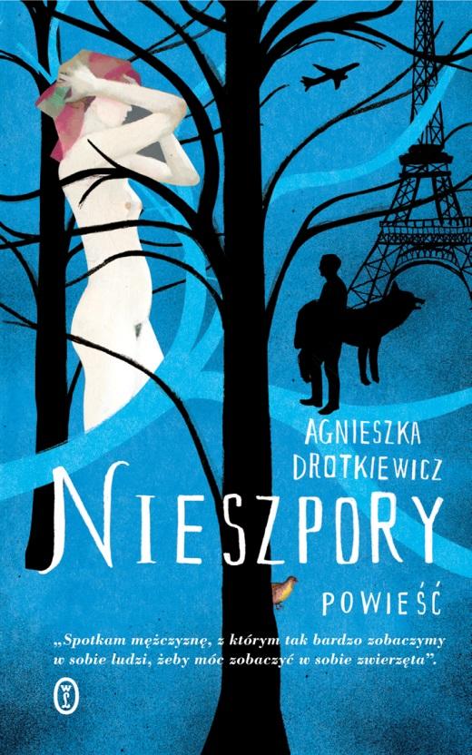 """Agnieszka Drotkiewicz """"Nieszpory"""" – okładka (źródło: materiały prasowe Wydawnictwa Literackiego)"""