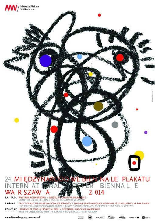 24. Międzynarodowe Biennale Plakatu (źródło: materiały prasowe organizatora)