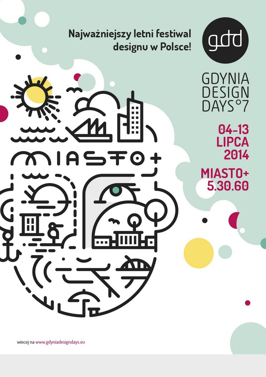 Gdynia Design Days 2014, plakat (źródło: materiały prasowe)
