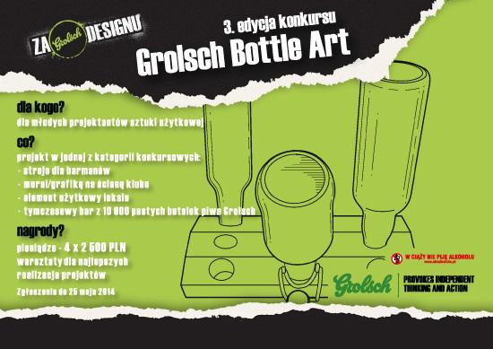Grolsch Bottle Art, plakat (źródło: materiały prasowe)