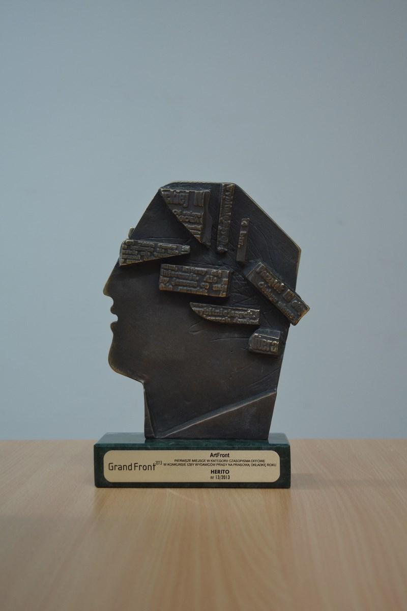 Nagroda GrandFront 2013 dla Herito, nr. 13/2013 (źródło: materiały prasowe organizatora)