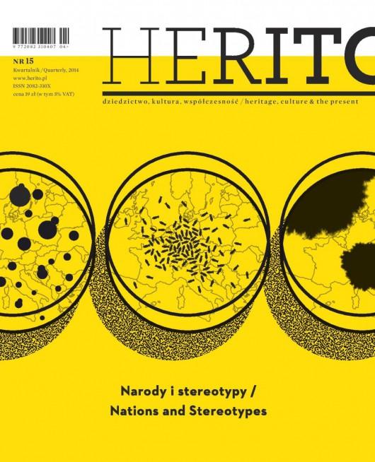 """""""Herito"""", nr 15 – okładka (źródło: materiały prasowe)"""