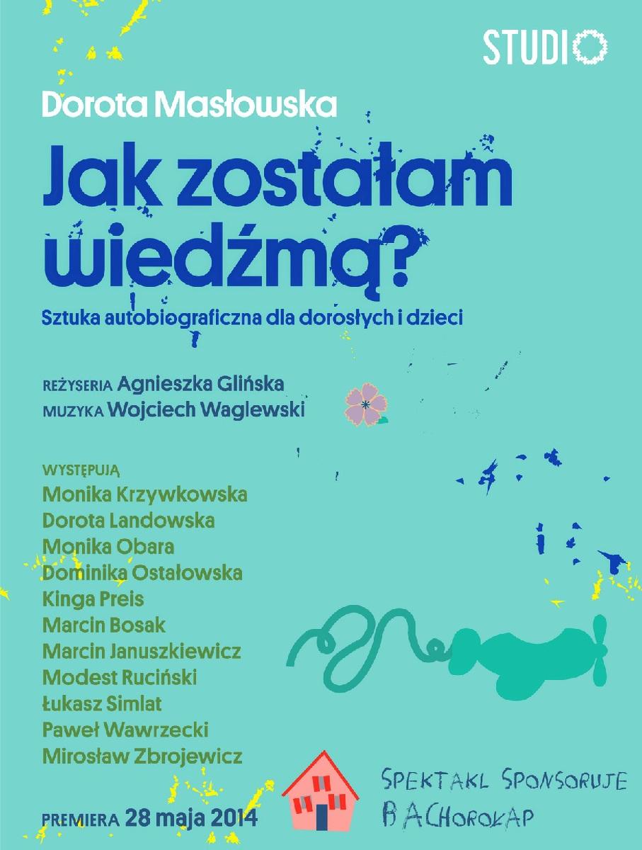 """""""Jak zostałam wiedźmą"""", plakat (źródło: mat. prasowe)"""