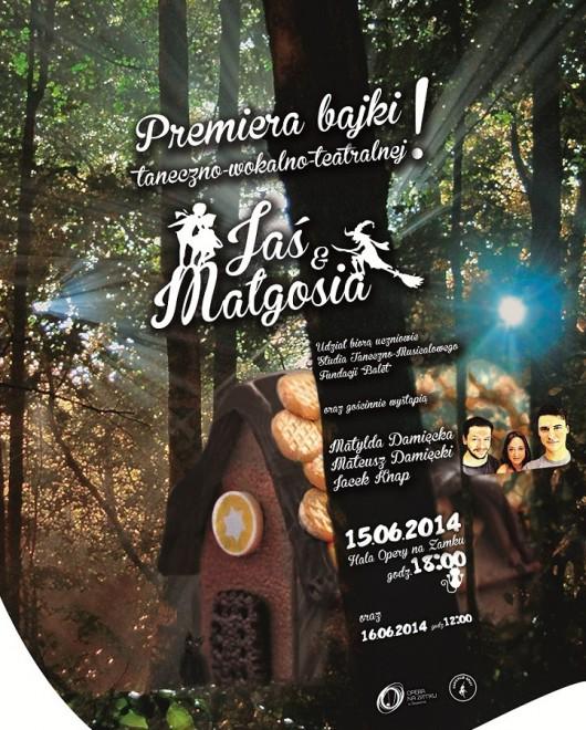 """""""Jaś i Małgosia"""", plakat (źródło: mat. prasowe)"""