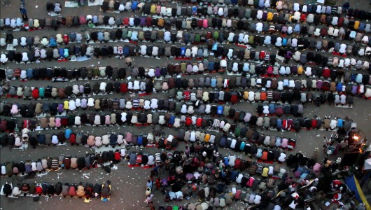 """Jasmina Metwaly, """"Remarks on Medan"""" (Tahrir version) (źródło: materiały prasowe organizatora)"""