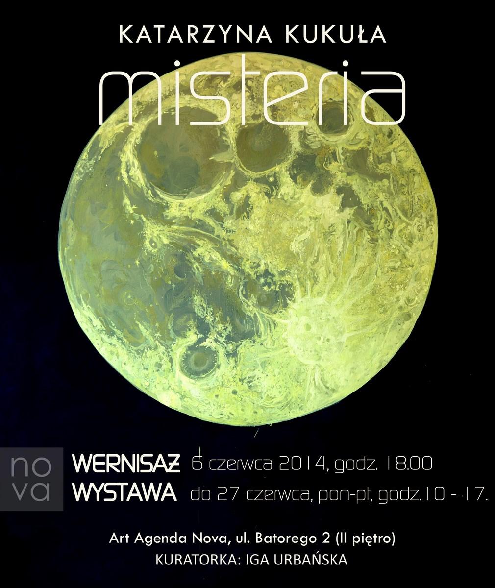 """Katarzyna Kukuła, """"Misteria"""", Art Agenda Nova w Krakowie (źródło: materiały prasowe organizatora)"""