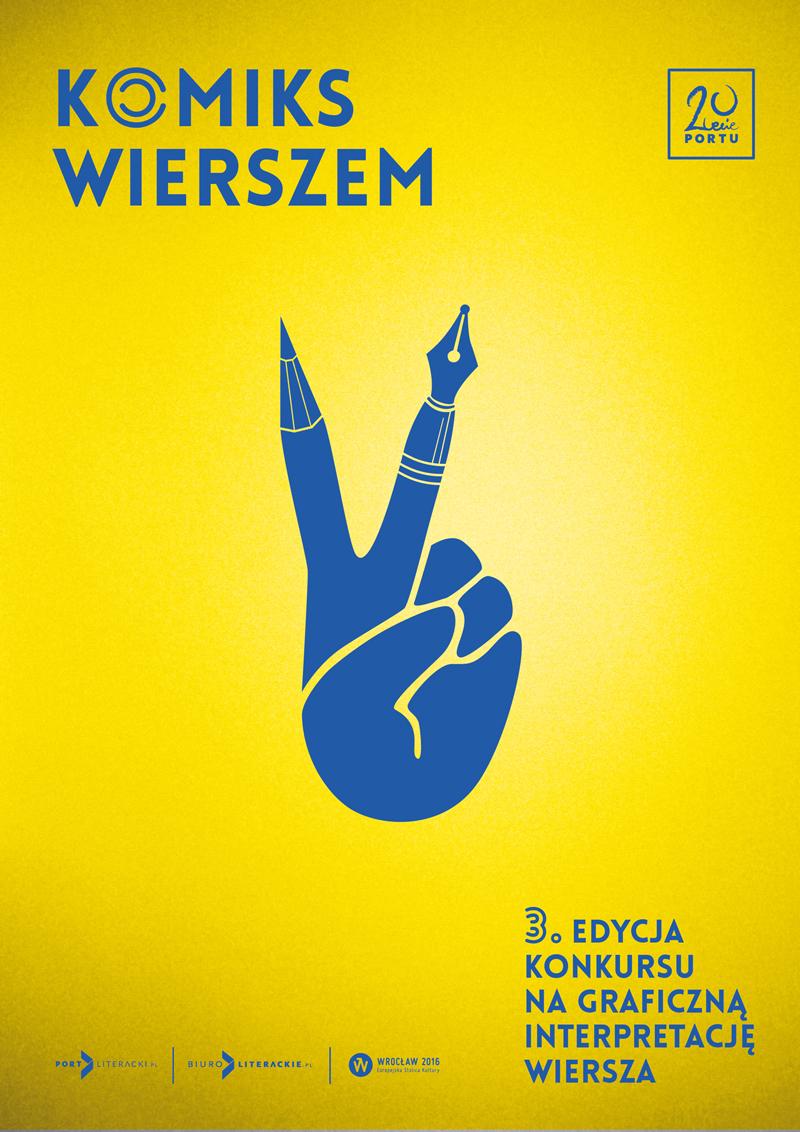 """""""Komiks wierszem po ukraińsku"""" – plakat (źródło: materiały prasowe)"""