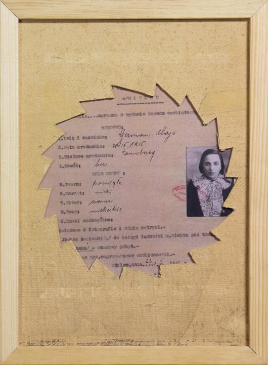 """Marek Chlanda, """"Podanie Chaji Mielec"""", 1941 (źródło: materiały prasowe organizatora)"""