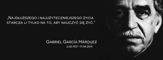 Gabriel García Márquez – cytat (źródło: materiały prasowe)