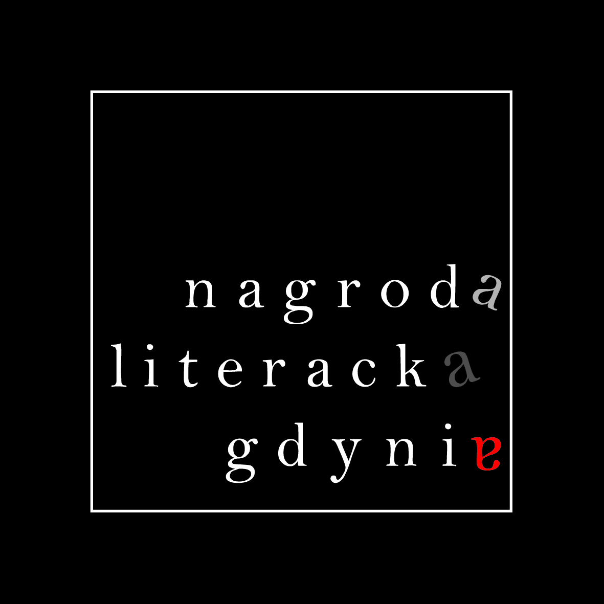 Nagroda Literacka Gdynia – logo (źródło: materiały prasowe)