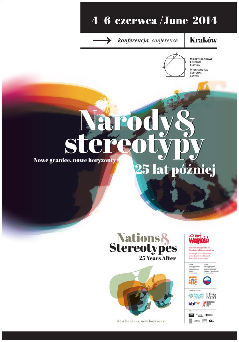 """""""Narody i stereotypy 25 lat później. Nowe granice, nowe horyzonty"""" (źródło: materiały prasowe)"""