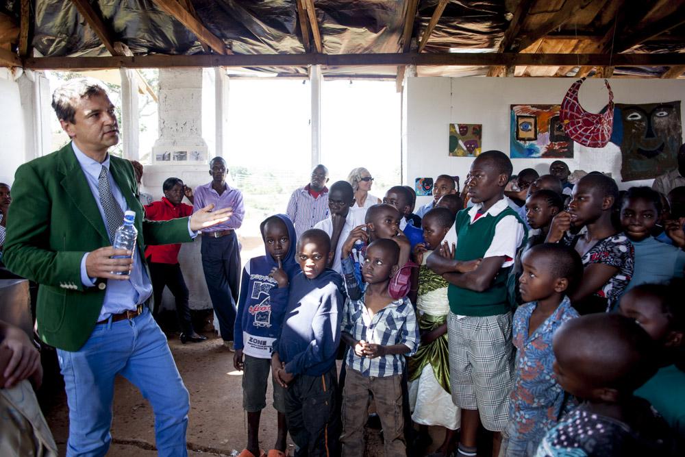 Otwarcie wystawy, Mathare Art Gallery (źródło: materiały prasowe organizatora)