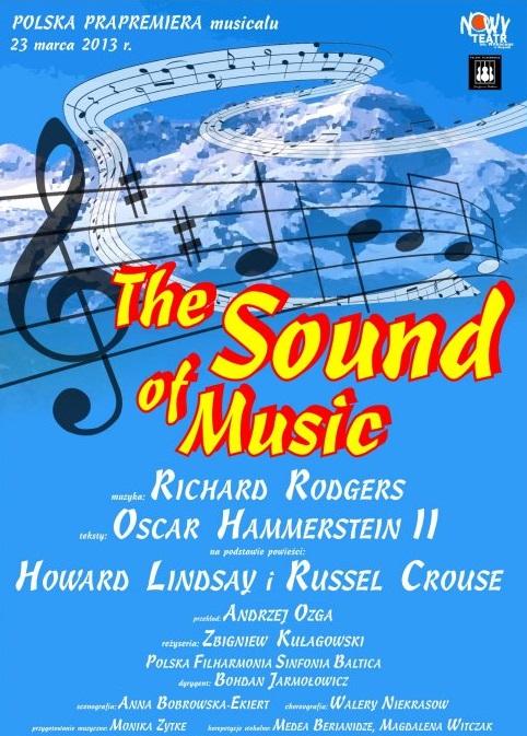 """""""The Sound of Music"""" (""""Dźwięki muzyki""""), plakat (źródło: materiały prasowe organizatora)"""