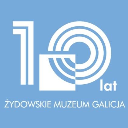 10-lecie Żydowskiego Muzeum Galicja, logo (źródło: materiały prasowe organizatora)