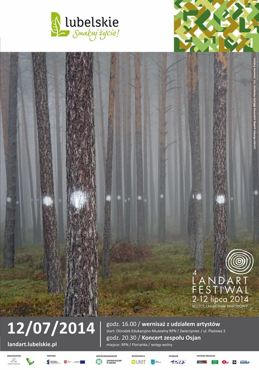 4. Land Art Festiwal, plakat (źródło: materiały prasowe organizatora)