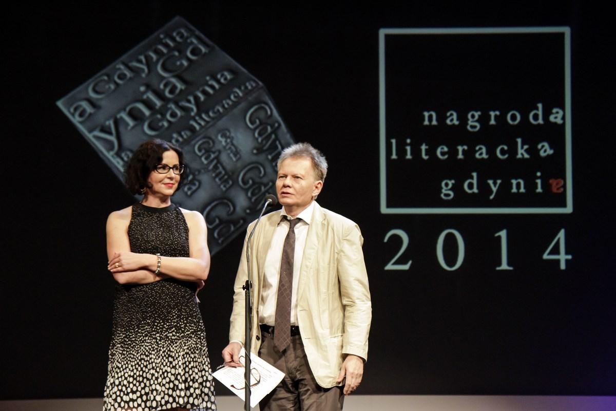 Na zdjęciu: Agata Bielik-Robson, Aleksander Nawarecki (źródło: materiały prasowe organizatora)