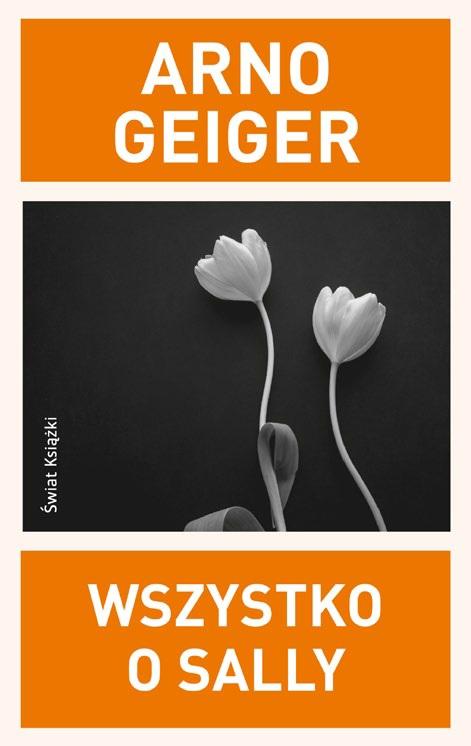 """Arno Geiger, """"Wszystko o Sally"""", Świat Książki, okładka (źródło: materiały prasowe organizatora)"""