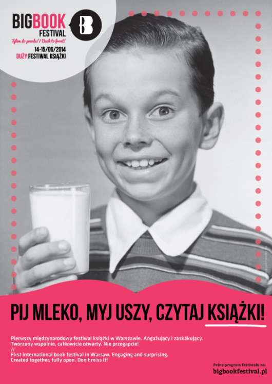 Big Book Festival 2014, plakat (źródło: materiały prasowe organizatora)