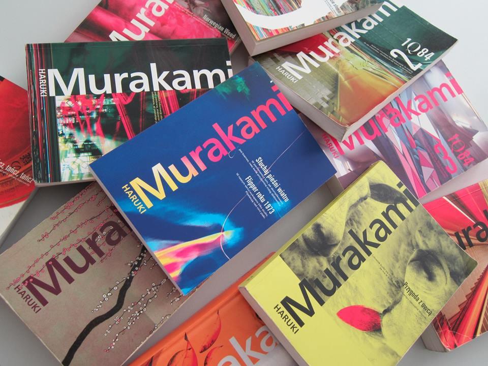 Haruki Murakami, książki (źródło: materiały prasowe organizatora)