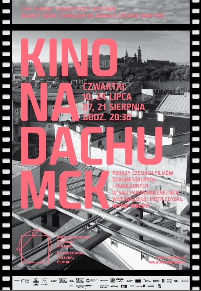 Kino na dachu MCK, plakat (źródło: materiały prasowe organizatora)