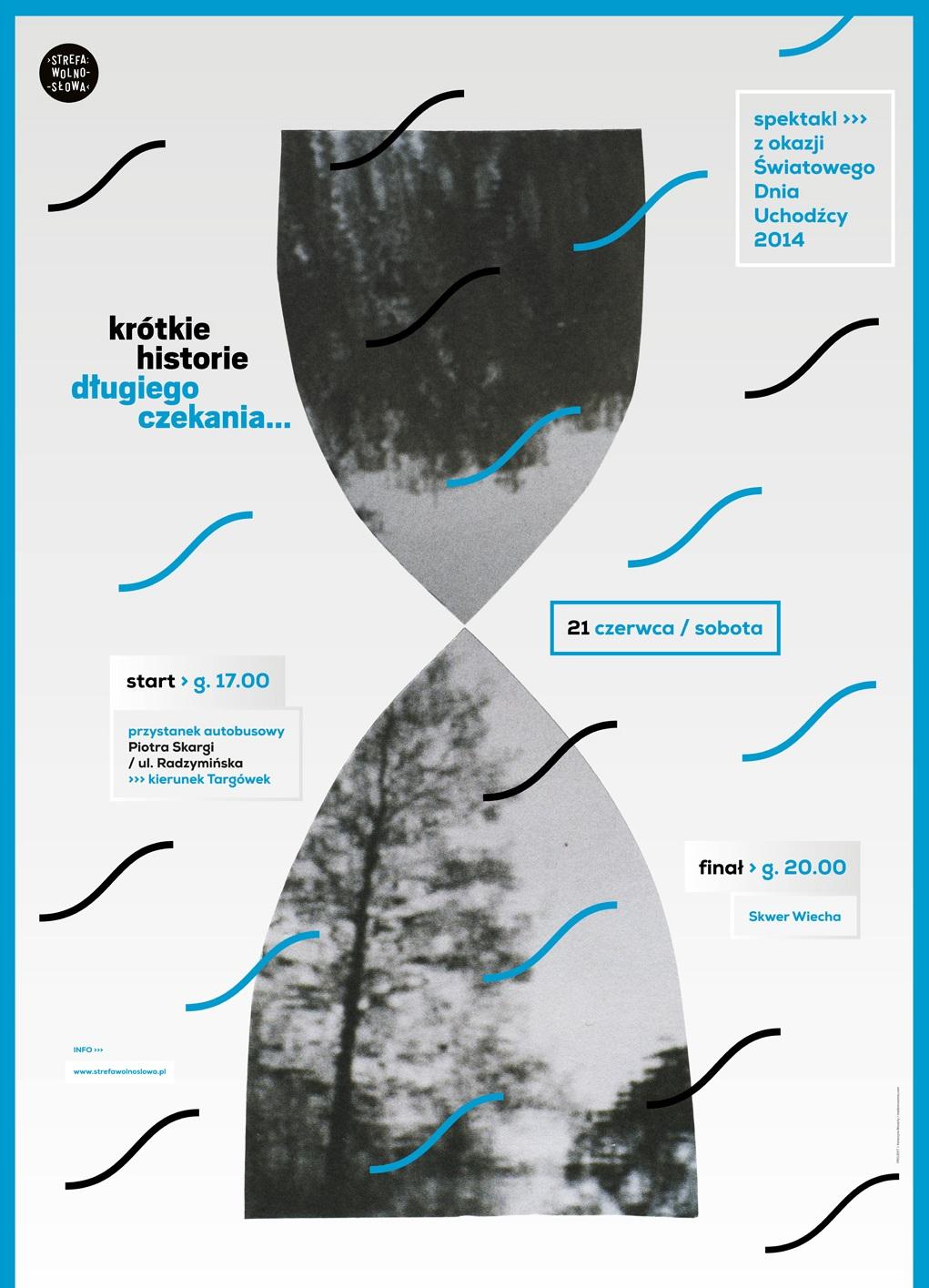 """""""Krótkie historie długiego czekania"""", plakat (źródło: materiały prasowe organizatora)"""
