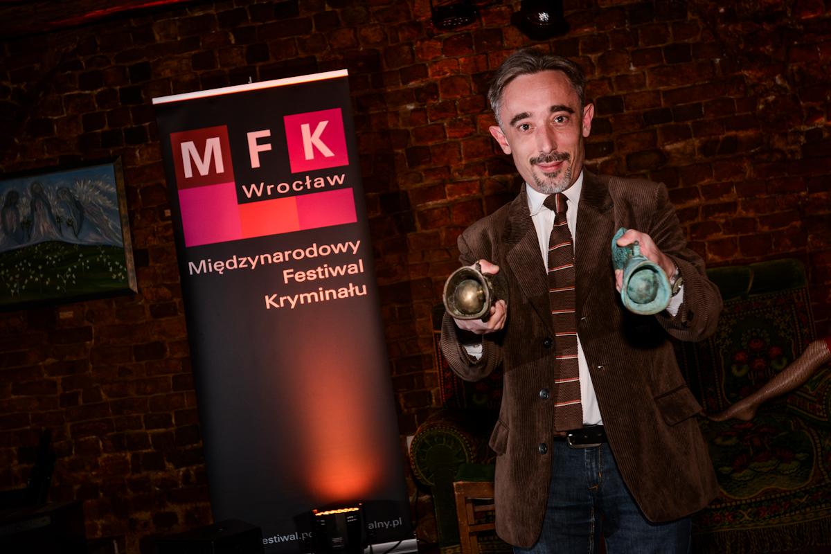 Marcin Wroński, fot. Max Pflegel, Gala Międzynarodowego Festiwalu Kryminału 2014 (źródło: materiały prasowe organizatora)