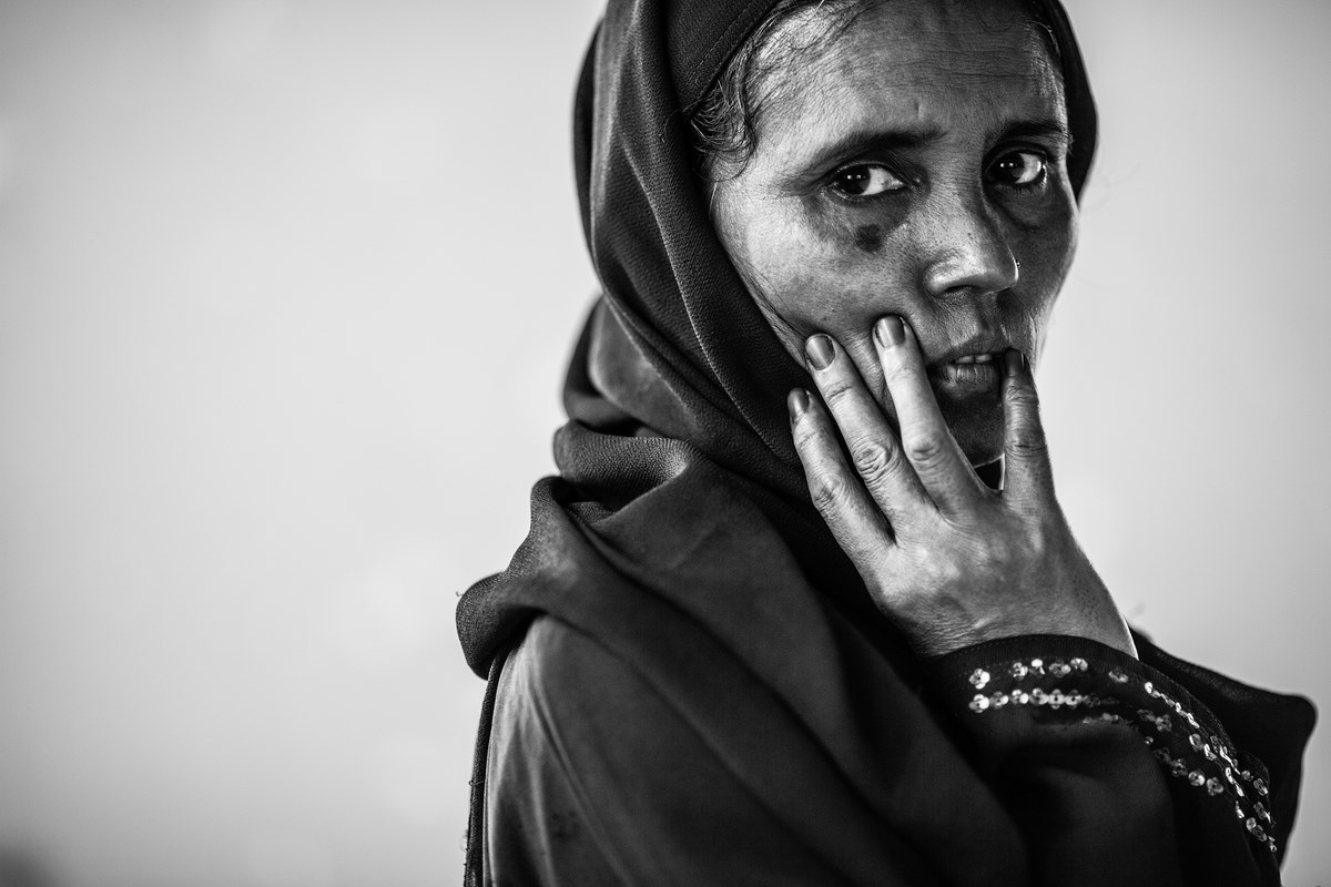 """Marcin Zaborowski, z cyklu """"Rohingyas. The refugees"""". III miejsce w kategorii Portret Sesyjny, Grand Press Photo 2014 (źródło: materiały prasowe organizatora)"""