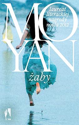 """Mo Yan, """"Żaby"""", Wydawnictwo W.A.B., okładka (źródło: materiały prasowe organizatora)"""