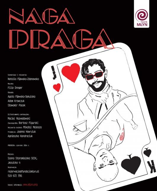 """Naga Praga"", plakat (źródło: mat. prasowe)"