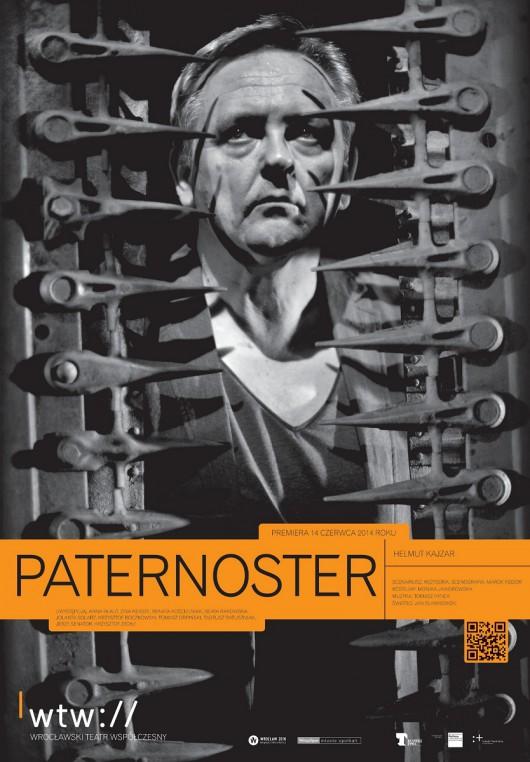 """""""Paternoster"""", plakat (źródło: mat. prasowe)"""