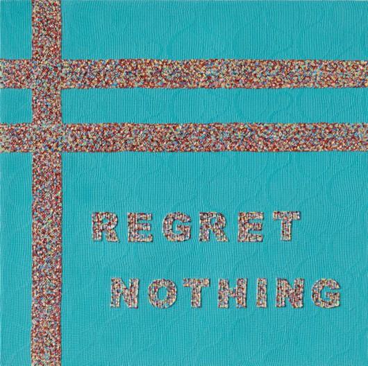 """""""Regret nothing"""", Sam Havadtoy (źródło: materiały prasowe galerii)"""
