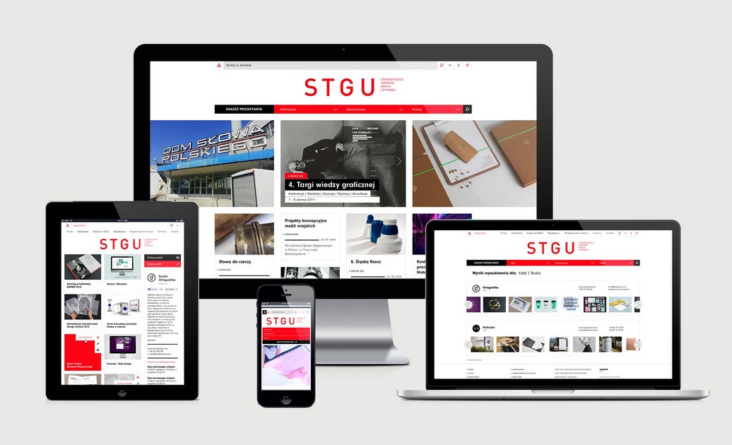 Stowarzyszenie Twórców Grafiki Użytkowej – stgu.pl (źródło: materiały prasowe)