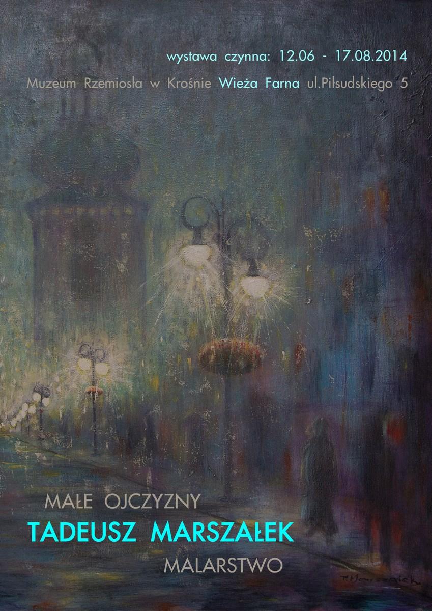 """Tadeusz Marszałek, """"Małe ojczyzny"""", Muzeum Rzemiosła w Krośnie (źródło: materiały prasowe organizatora)"""