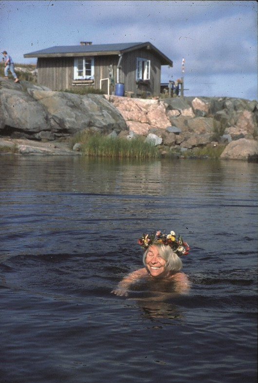 Na zdjęciu: Tove Jansson. Fot. Per Olov Jansson, Klovharu/Haru (źródło: materiały prasowe organizatora)