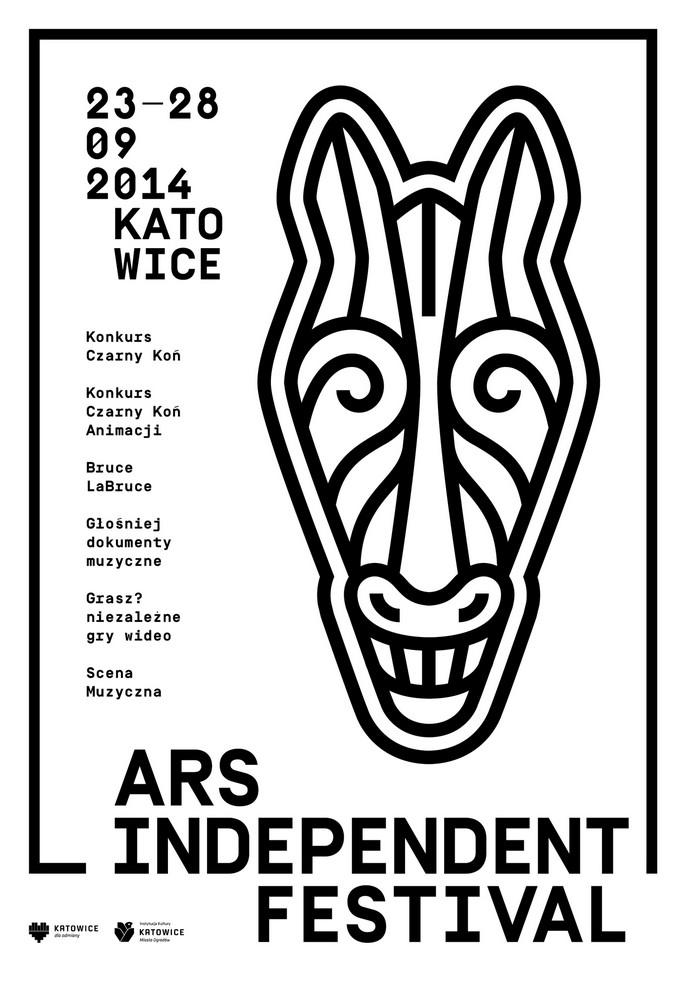 Plakat Ars Independent Festival, proj. Marta Gawin (źródło: materiały prasowe organizatora)