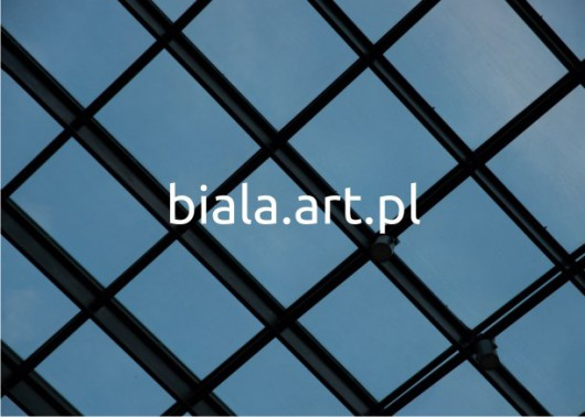 """Wystawa """"Biala.art.pl"""", plakat (źródło: materiały prasowe organizatora)"""