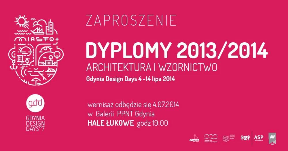 Wystawa Dyplomy Architektury i Wzornictwa na Gdynia Design Days (źródło: materiały prasowe organizatora)